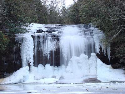 Winter in Panthertown