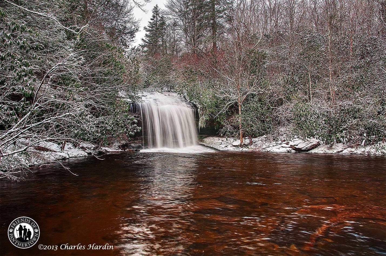 Snowy Schoolhouse Falls - February 2013