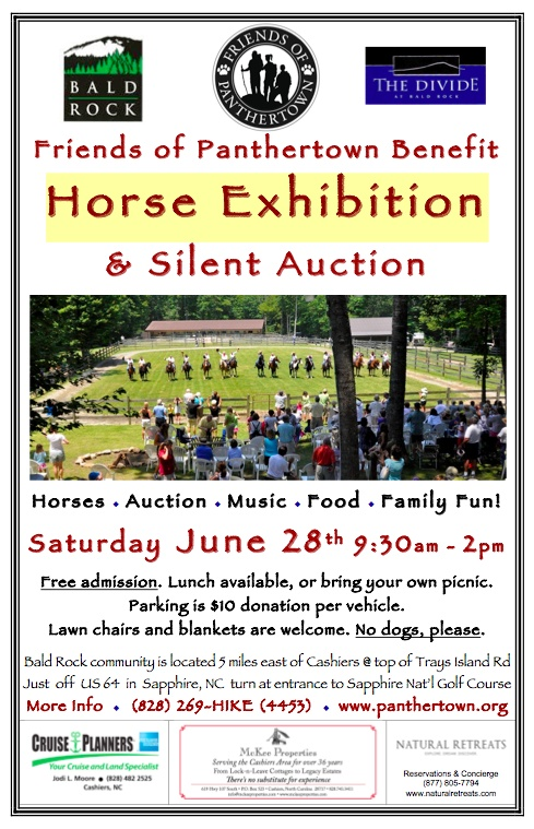 Horse Show June 28, 2014 at Bald Rock in Sapphire, NC
