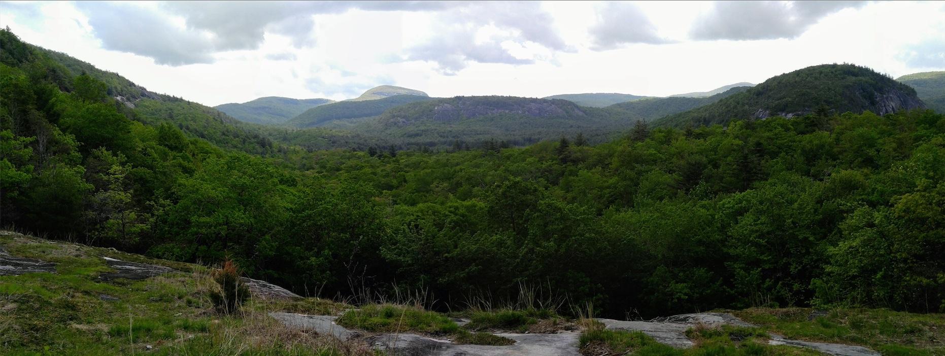 Panorama from Salt Rock