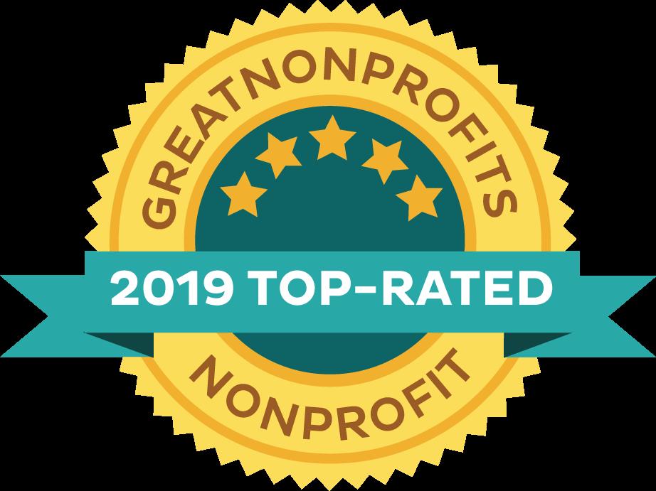 2019 Top-Rated Nonprofit at Greatnonprofits!
